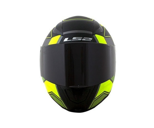 capacete ls2 ff353 rapid carrera black/yellow  58 (m)