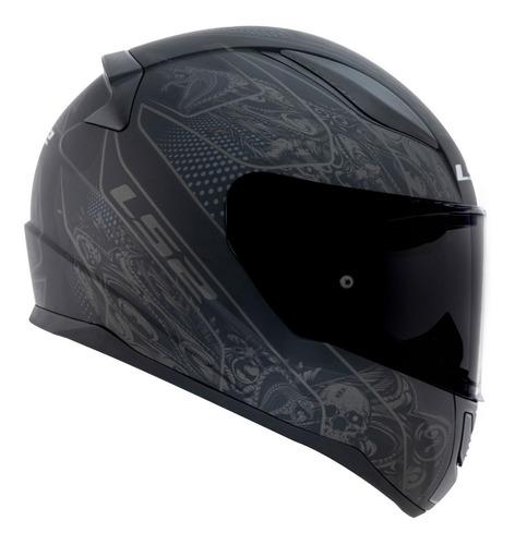 capacete ls2 ff353 rapid crypt fosco capacete moto