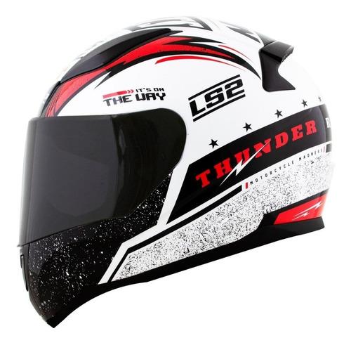 capacete ls2 ff353 rapid thunder