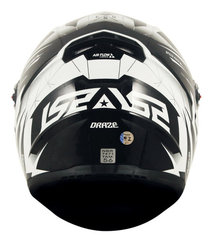 capacete ls2 ff358 draze capacete moto