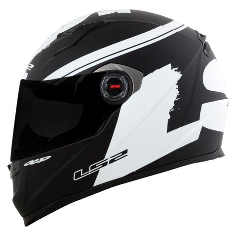 capacete ls2 ff358 fluo preto fluo fosco capacete moto