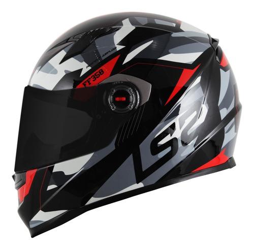 capacete ls2 ff358 tank - capacete moto 4 estrelas sharp