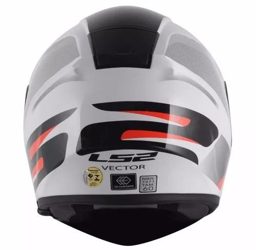 capacete ls2 ff397 vector tricomposto modelo astro