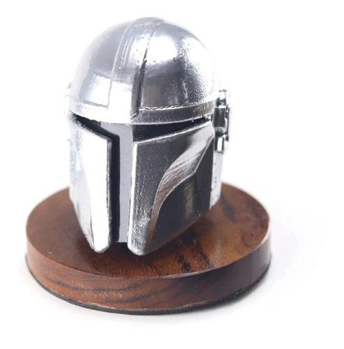 capacete mandalorian star wars decorativo impressão 3d