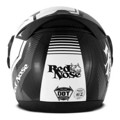 capacete masculino evolution 788 g6 red nose fosco