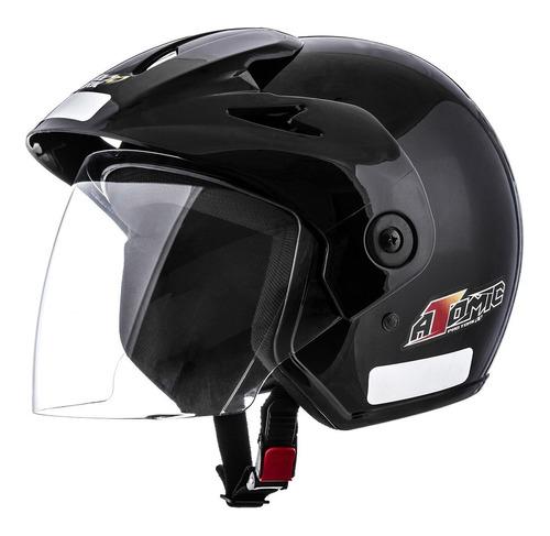 capacete masculino preto atomic pro tork