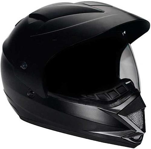 capacete mixs mx cross frontier preto fosco ou brilhante