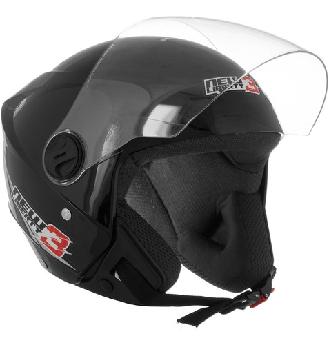 capacete moto aberto pro tork new liberty 3 three