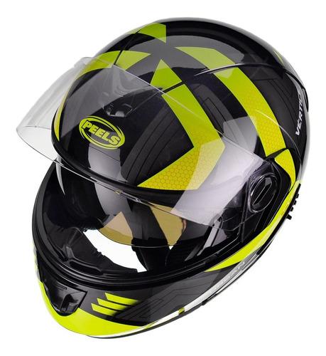 capacete moto articulado peels urban vértice lançamento + nf