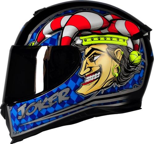 capacete moto axxis by mt joker azul lançamento