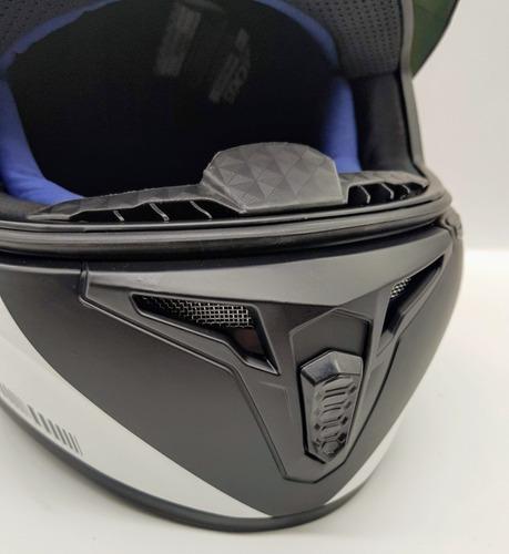 capacete moto axxis draken uk fosco + viseira fume