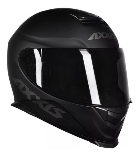 capacete moto axxis eagle preto fosco lançamento