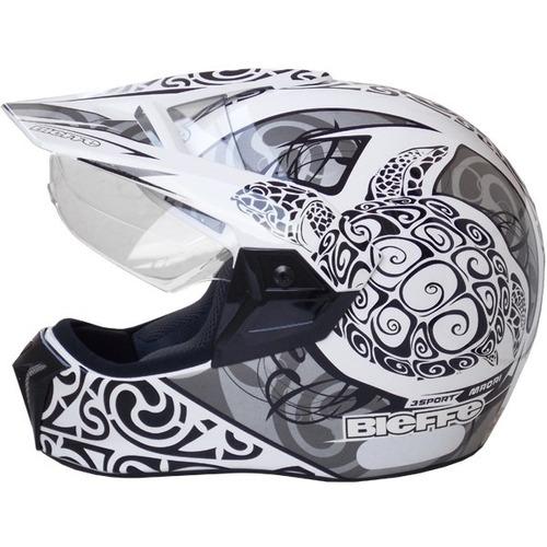 capacete moto bieffe 3 sport maori grafiti lançamento bieffe