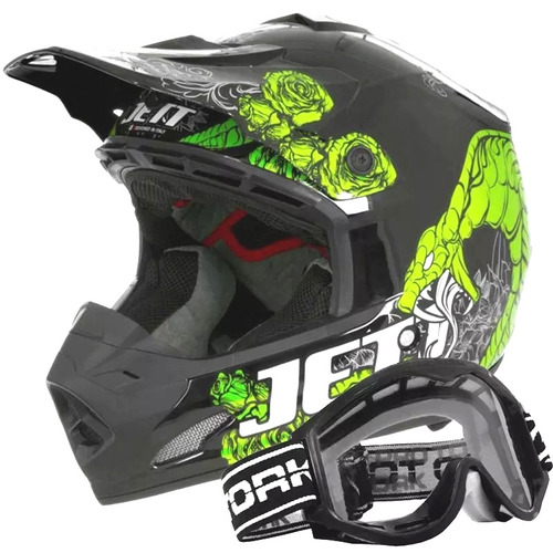 capacete moto cross pro tork