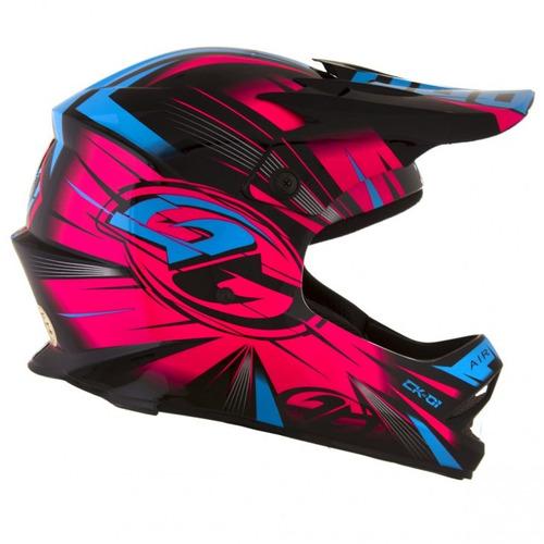 capacete moto cross trilha infantil pro tork kids ck 01