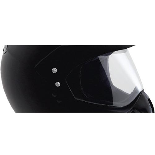 capacete moto ebf motard cross 56 preto fosco antialérgico