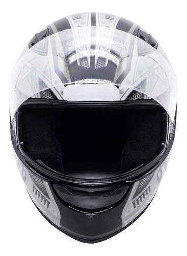 capacete moto ebf new spark air fechado fosco/brilhante
