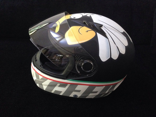 capacete moto exceed valentino rossi -mad duck