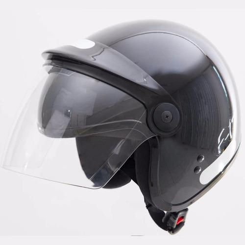 capacete moto fly aberto