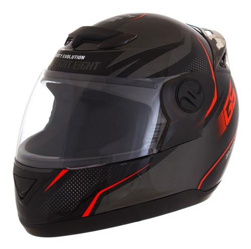 capacete moto masculino laranja g6 factory edition pro tork