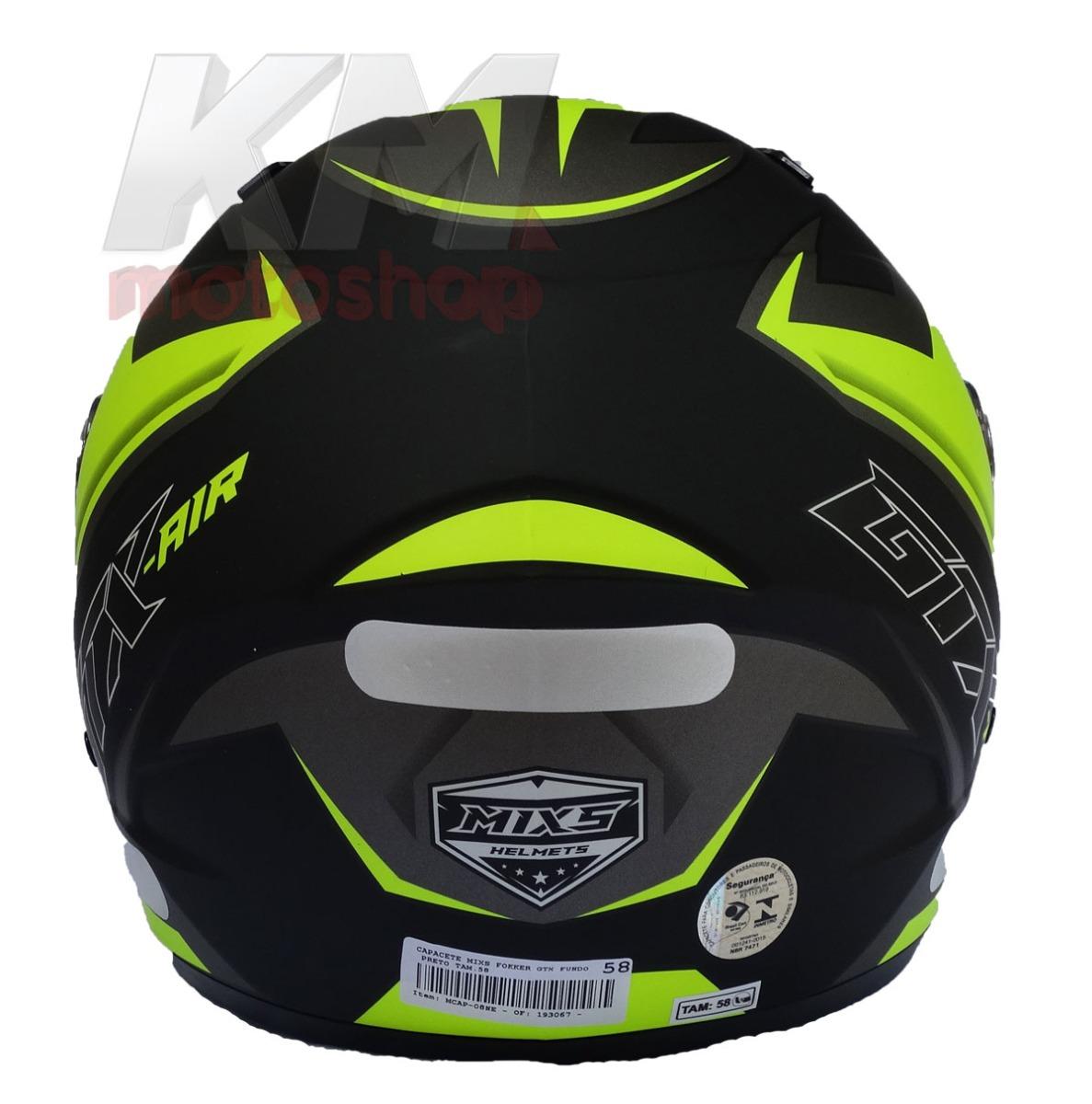capacete moto mixs fokker gtx transfer amarelo neon fosco. Carregando  zoom... capacete moto mixs. Carregando zoom. 024cbd43fe8