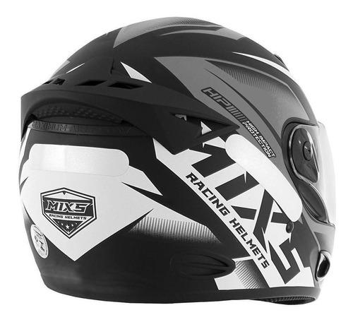 capacete moto mixs fokker mx2 storm fundo fosco lançamento