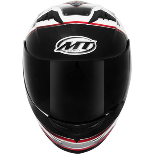 capacete moto mt blade stratosphere branco - promoção