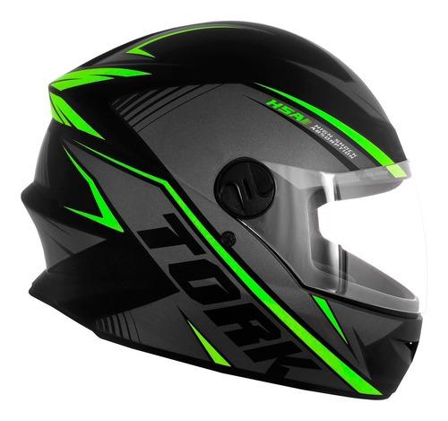 capacete moto new liberty four pro tork r8 fechado