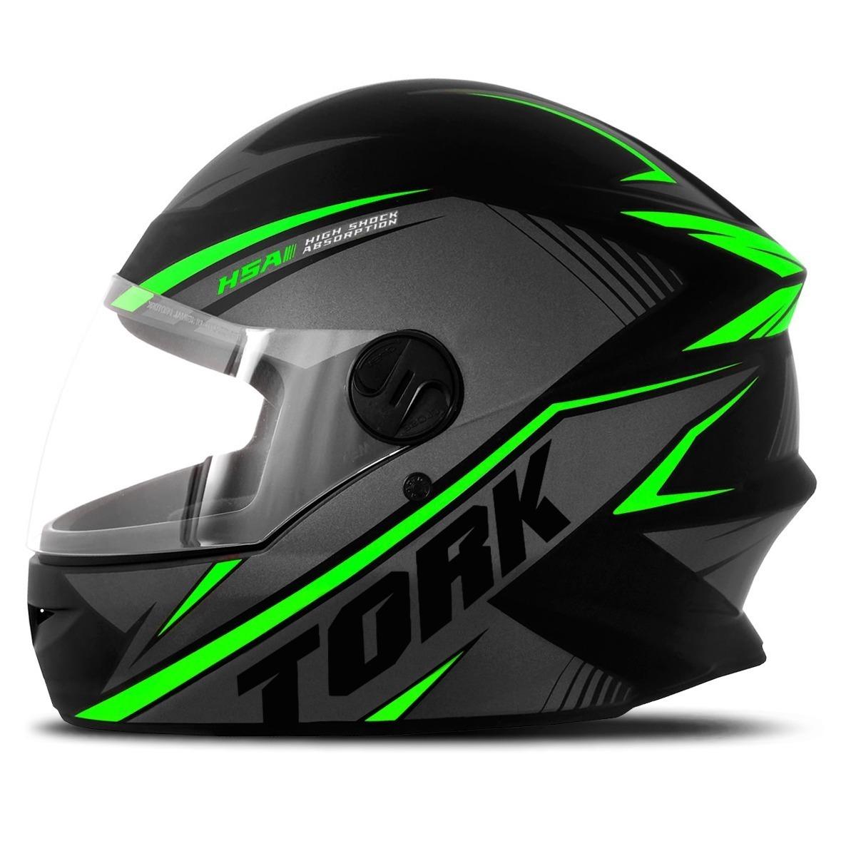 capacete moto new liberty four pro tork r8 fechado verde. Carregando zoom. b95f8bc0a2