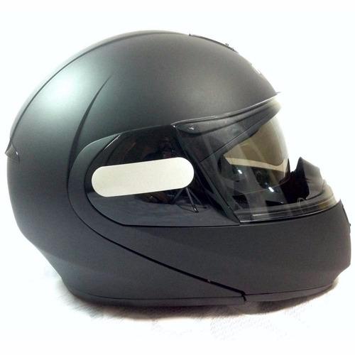 capacete moto peels urban classic escamoteável preto fosco