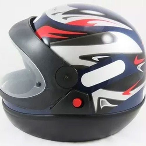 capacete moto taurus san marino azul 60