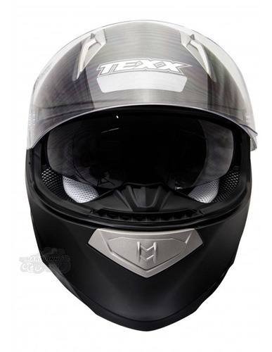 capacete motociclista texx race double vision viseira solar