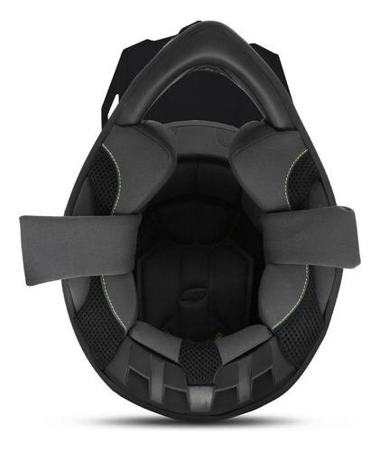 capacete motocross pro tork fast lançamento trilha + nfe