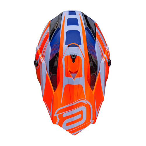 capacete motocross trilha enduro asw fusion original cores