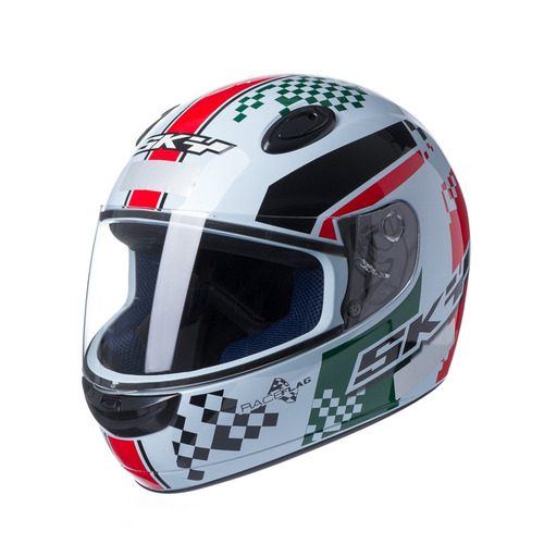 capacete motosky collection sky race flag italy 58
