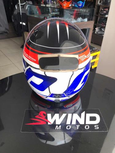capacete mt revenge max air flow tamanho 58 e 60