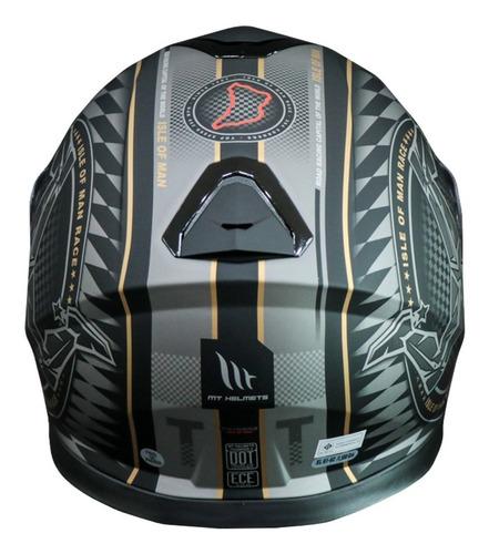 capacete mt thunder 3 ilha de man mais pinlock original