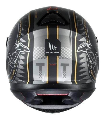capacete mt thunder 3 ilha man isle of man edição especial