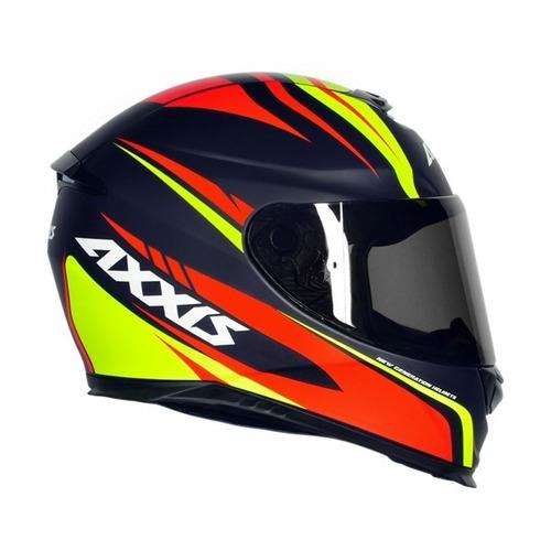 capacete mt/axxis eagle hybrid azul fosco rbr 59/60cm