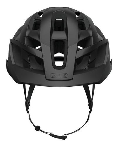 capacete mtb abus  moventor  preto fosco  promoção