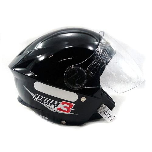 capacete new liberty 3 | preto