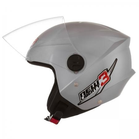 capacete new liberty 3 pro tork prata n56