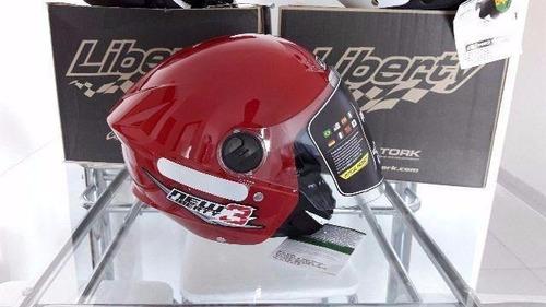 capacete new liberty theere protork
