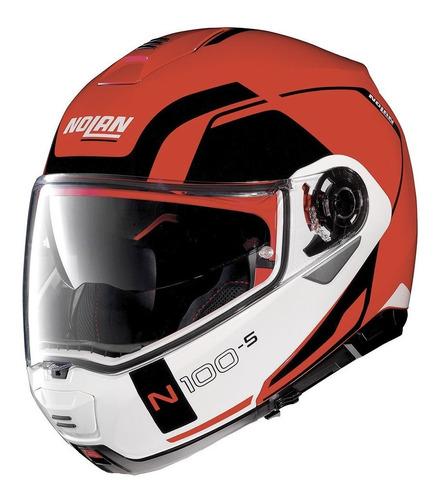 capacete nolan n100-5 confirmar cor  + intercomunicador b601