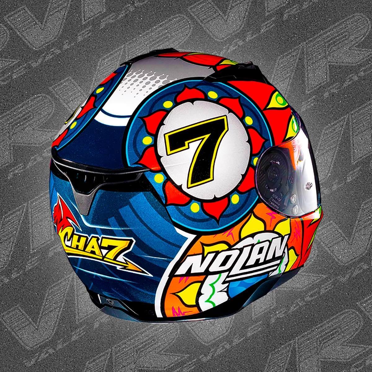 3e61f123f436f capacete nolan n87 chaz davies metal black rapid n-com. Carregando zoom.