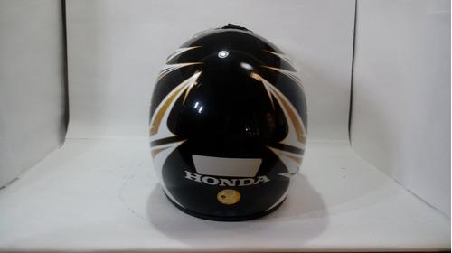 capacete off road xre 300 dourado