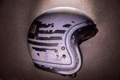 capacete old school bell custom 500 rsd 74 retro
