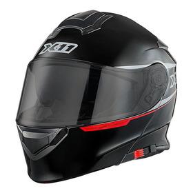 Capacete Para Moto Escamoteável X11 Turner Preto Tamanho 60