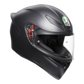 Capacete Para Moto Integral Agv K-1 Mono Matt Black  Ms