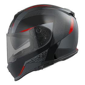 Capacete Para Moto Integral X11 Revo Vermelho Tamanho 60